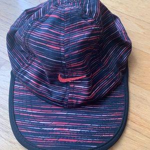 Nike toddler sports cap hat red